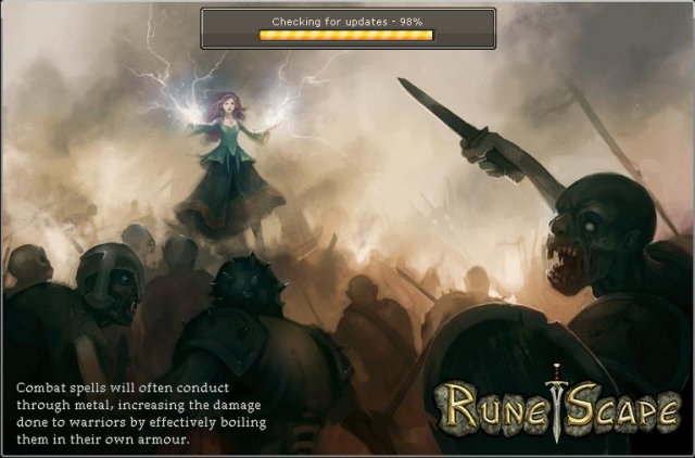 runescape screen