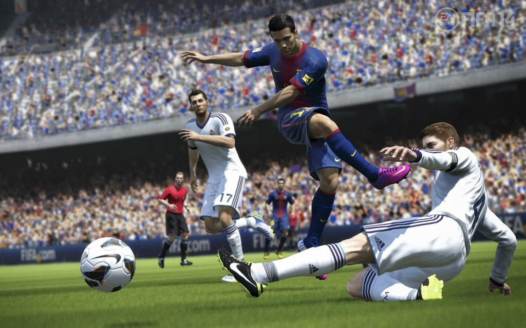 Fifa 14 screenshot 1024x640 Use FIFA Coins to build Your Super Staff
