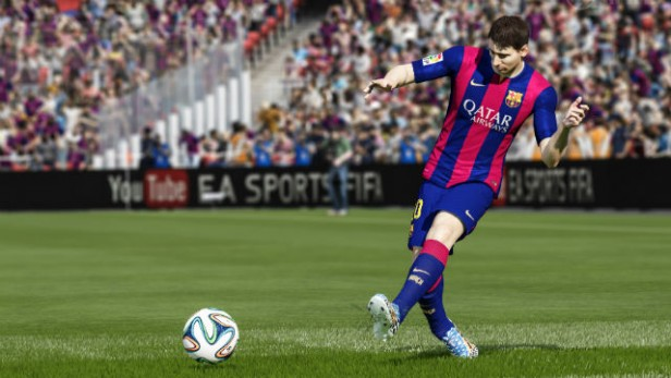 fifa15 xboxone ps4 authenticplayervisual messi pass wm FIFA 15 tricks to Jockey in Defence