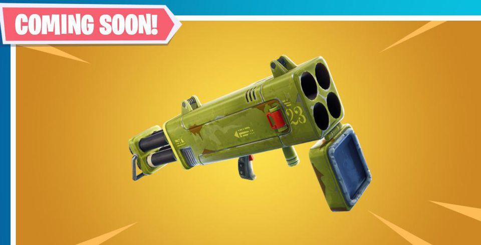 Fortnite Adds New Epic Quad Launcher Rockets at This Week